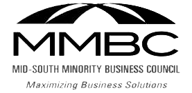 Official Member of Mid-South Minority Business Council – Woman Owned Business